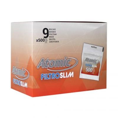 AT Filter Tips 6mm Polybag 500