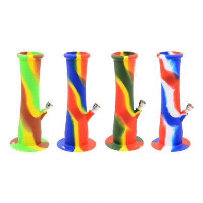 AT-Silikon Bong 22cm Multicolo