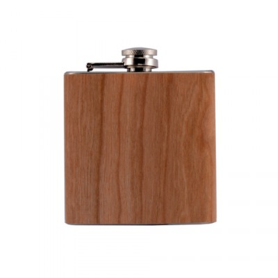 AT-Flachmann Wood 6oz/ 180ml